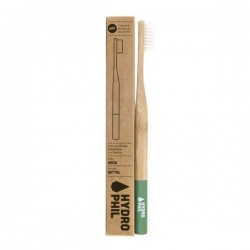 Brosse à dents en Bambou vert Medium soft-Hydrophil
