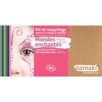 Kit Maquillage 8 couleurs Mondes enchantés BIO - Namaki